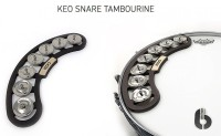 KEO Snare Tambourine With Magnetic Attachment (KEOSNRTAM)