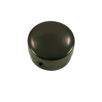 WD Aluminum Dome Top Knob Large - Black (KGRL1AB)