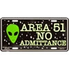 Area 51 Alien License Plate (LP1170)