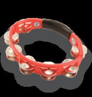 LP® Cyclops Hand Held Tambourine Red (LP151)