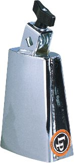 Latin Percussion Deluxe Black Beauty Cowbell - Chrome (LP204B)