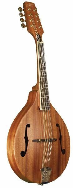 Morgan Monroe Natural A-Style Mahogany Mandolin with Case (MAM200C)