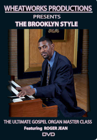 Ultimate Gospel Organ Master Class: The Brooklyn Style  DVD (MB21900DVD)