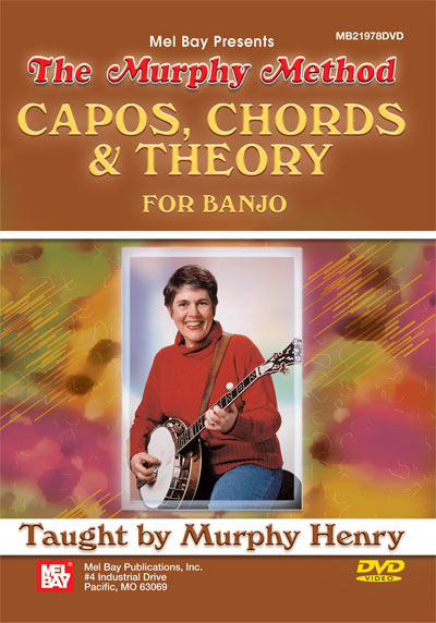 Capos, Chords and Theory for Banjo The Murphy Method  DVD (MB21978DVD)