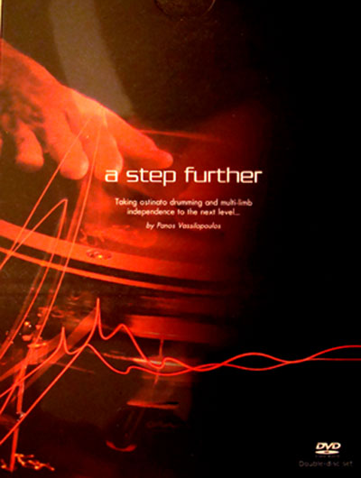 A Step Further : Ostinat Drumming By Panos 2-DVD Set (MB21989DVD)