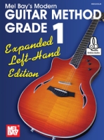 Mel Bay Modern Guitar Method Grade 1, Expanded Left-Hand Edition (Book + Online Audio) (MB93200ELM)