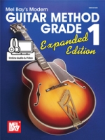 Mel Bay's Modern Guitar Method Grade 1 Expanded Edition (Book + Online Audio/Video) (MB93200EM)