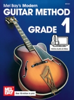 Mel Bay's Modern Guitar Method Grade 1 (Book + Online Audio/Video) (MB93200M)