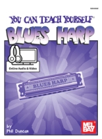 You Can Teach Yourself Blues Harp (Book + Online Audio/Video) (MB94698M)