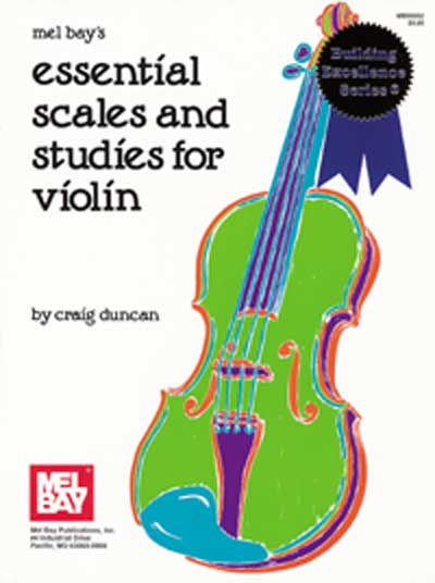 Essential Scales and Studies for Violin – Duncan (MB95052)