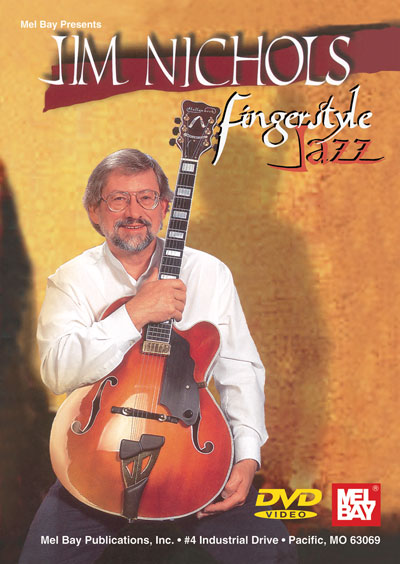 Jim Nichols - Fingerstyle Jazz  DVD (MB98536DVD)