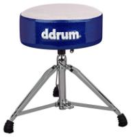 ddrum Mercury Fat Throne, White Top Blue Sides (MFATWB)