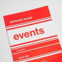 Bernard Shaak Events For Piano – Book 1 (MM101)