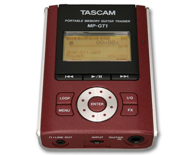 Tascam Portable MP3 Guitar Trainer (MPGT1)