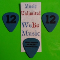 12 Pick WeBeMusic / Music Unlimited - Heavy Blue Duralin 5 Pack (MUP12BT5P)