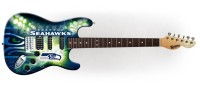 Seattle Seahawks Electric Guitar Limited Edition Northender Guitar - Official NFL Licensed (NENFL29)