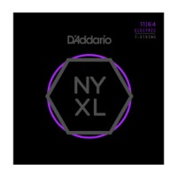 D'Addario NYXL1164 Nickel Wound 7 String Electric Guitar Strings, Medium (NYXL1164)