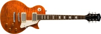 Oscar Schmidt OE20 Quilted LP Style Electric Guitar - Tiger Eye (OE20QTE)
