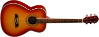 Oscar Schmidt OF2 Folk Acoustic Guitar - Cherry Burst (OF2CS)