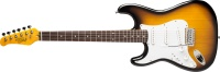 Oscar Schmidt OS300 Strat Style Electric Guitar Lefty - Tobacco Sunburst (OS300TSL)
