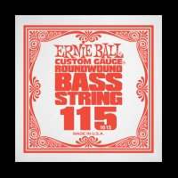Ernie Ball  .115 Nickel Wound Electric Bass String (P01615)