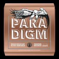 Ernie Ball Paradigm Medium Light Phosphor Bronze Acoustic Guitar Strings 12-54 (P02076)