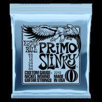 Ernie Ball Nickel Wound Electric Guitar Strings, Primo Slinky (9.5 - 44) (P02212)