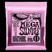 Ernie Ball Nickel Wound Electric Guitar Strings, Mega Slinky (10.5 - 48) (P02213)