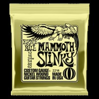 Ernie Ball Mammoth Slinky Nickel Wound Electric Guitar Strings - 12-62 Gauge (P02214)