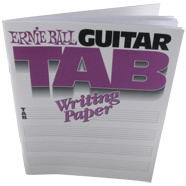 Ernie Ball Guitar Tab Book (P07021)