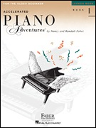 Accelerated Piano Adventures for the Older Beginner Lvl 1 (PAFA1)