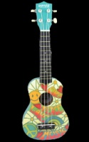 Panda Painted Series Soprano Ukulele - Peace Love (PANDA2)