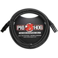 Pig Hog Tour Grade 8mm Microphone Cable, 10ft XLR (PHM10)