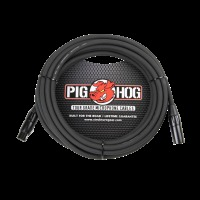 Pig Hog Tour Grade 8mm Microphone Cable, 25ft XLR (PHM25)