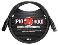 Pig Hog Tour Grade 8mm Microphone Cable, 3ft XLR (PHM3)