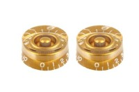 All Parts Set of 2 Gold Speed Knobs (PK0130032)