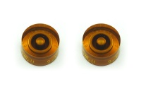 All Parts Speed Knob Set 0-11 Amber 2 Pack (PK0132022)