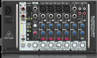 Behringer PMP500MP3 Ultra-Compact 500-Watt 8-Channel Powered Mixer with MP3 Player, Reverb and Wirel (PMP500MP3)