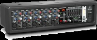 Behringer EUROPOWER PMP550M 500-Watt 5-Channel Powered Mixer with Multi-FX (PMP550M)