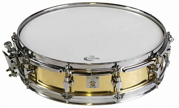 "Percussion Plus 14"" Brass Shell Piccolo Snare Drum PP200 (PP200)"