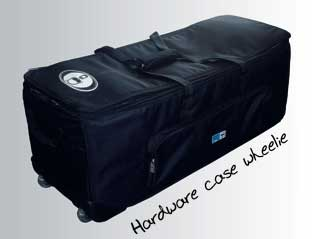 Protection Racket Rolling Drum Hardware Case (PR50W)