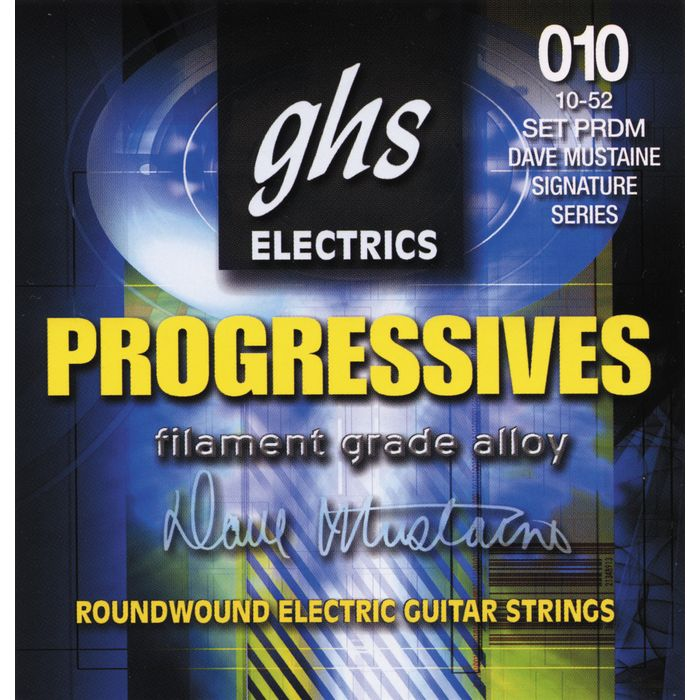 GHS Dave Mustaine Signature Electric Guitar Strings (PRDM)