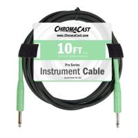 ChromaCast Pro Series 10-Feet Instrument Cable - Surf Green (PSCBLSS10SGR)
