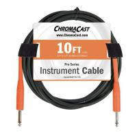 ChromaCast Pro Series 10-Feet Instrument Cable - Sunset Orange (PSCBLSS10SOR)