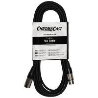 ChromaCast Pro Series Mic Cable 20 Feet, Black, XLR/XLR Ends (PSMICCBL20)
