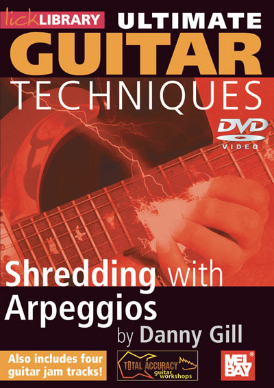 Ultimate Guitar Techniques: Shredding With Arpeggios  DVD (RDR0126)