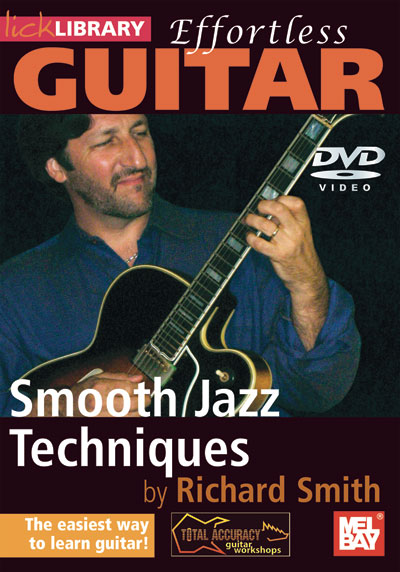Effortless Guitar - Smooth Jazz Techniques  DVD (RDR0280)