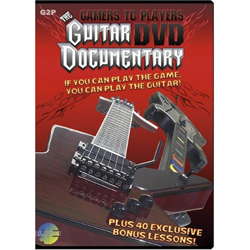 Gamers To Players – The Guitar DVD Documentary (REG2P)