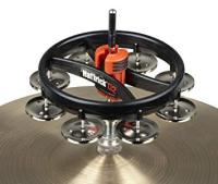 Rhythm Tech RT7420 Hat Trick Tambourine II, Nickel Jingles (RT7420)