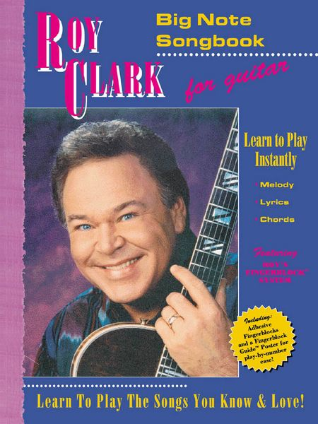 Roy Clark Big Note Songbook For Easy Guitar (SANTS116)